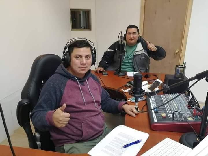 Luis Millaquén y Jorge Farías